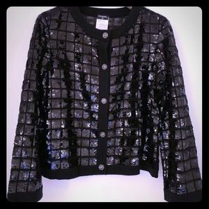 Chanel Sequin Sweater